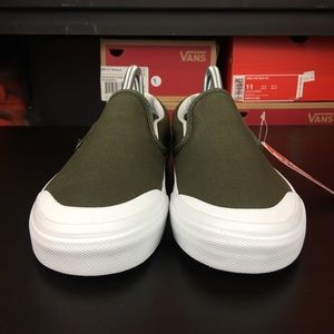 7582450ecc0 Vans Shoes - Vans Classic Slip On 138 Canvas Grape Leaf Olive